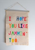 I Hope You Like Jammin' Too print, £69, The Mint List