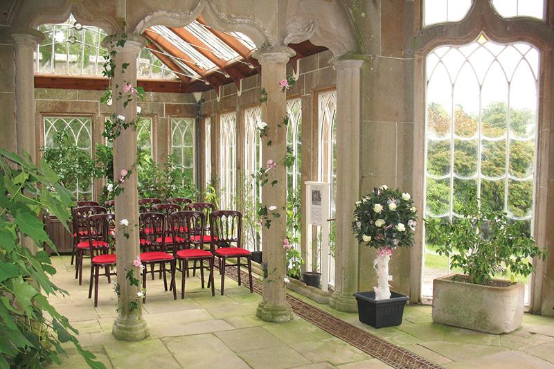 10National Trust Camellia House Culzean inside