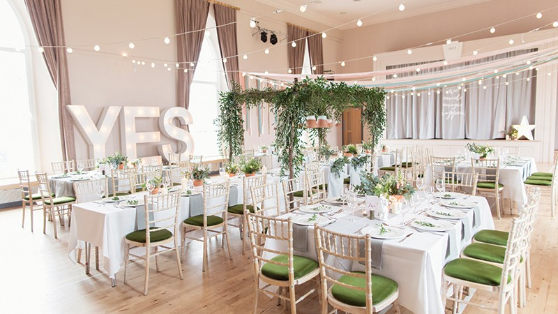Five venue suggestions if you're looking for a blank canvas you can make your own