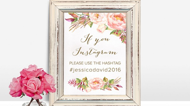 Are you all set to be social media-savvy on your big day?