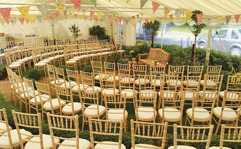 Finesse Marquees brings the outside in