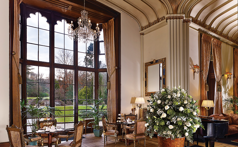 We wish our living rooms looked a lot more like The George's lobby