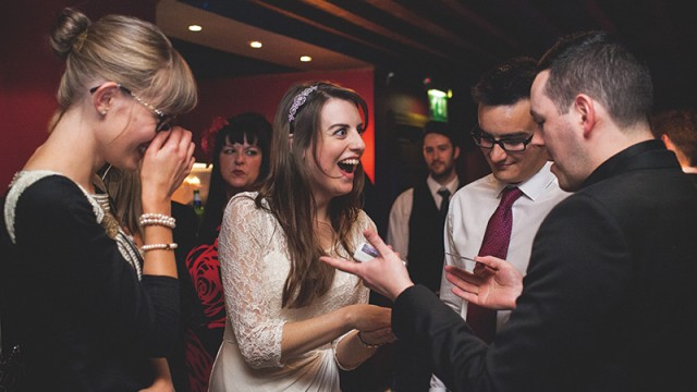 Could it be magic? Why you should book a magician for your big day