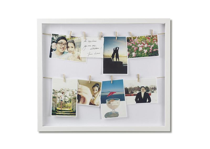 3Prezola.com Umbra Clothesline Frame White 43 x 50 cm £40