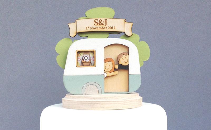 Ginger Ray Wedding Cake Topper