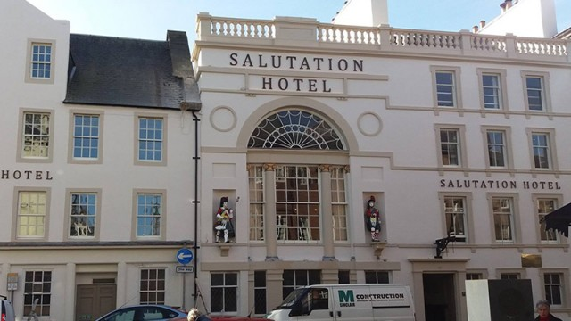 The Salutation Hotel puts its best face forward as part of city-wide regeneration