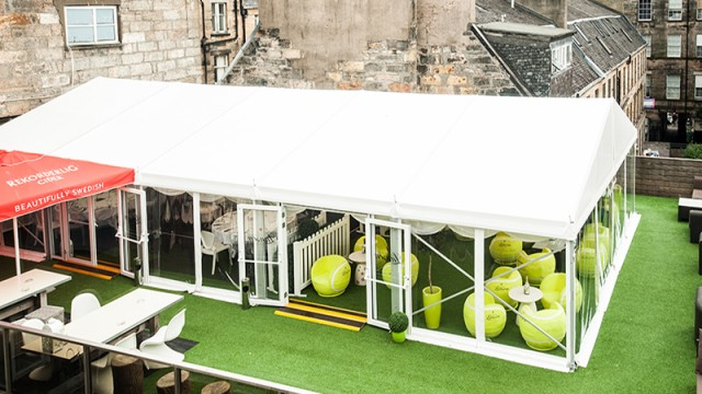 City slickers: 29 Glasgow debuts new rooftop marquee