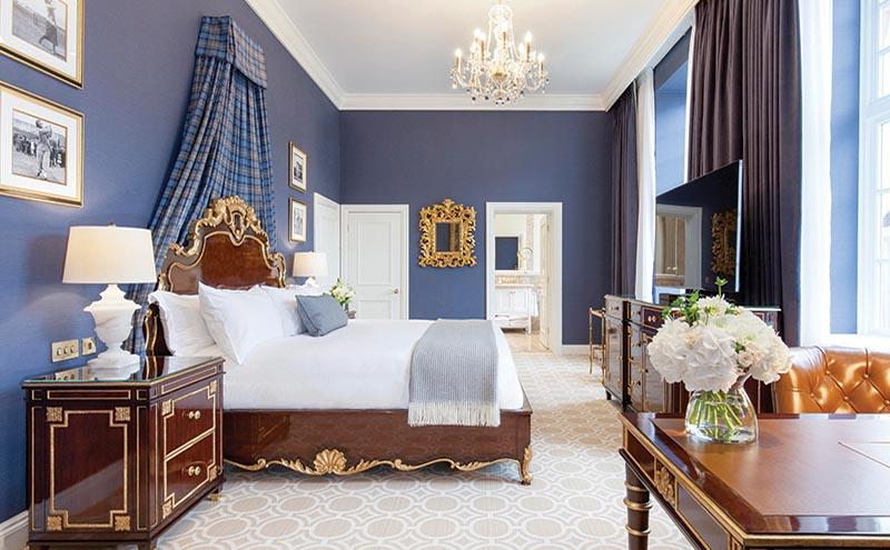 trumpturnberry_Model bedroom, Trump Turnberry