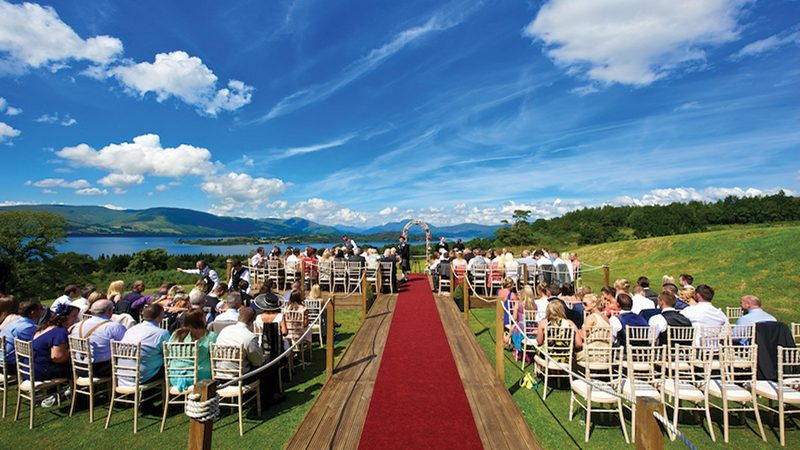 Everything you need to know about getting married outside in Scotland