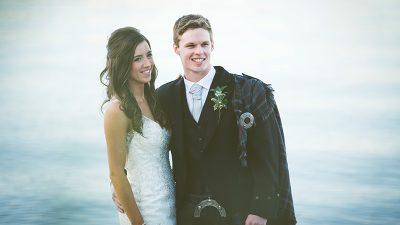 Melanie Mckenzie and Brayden Mason
