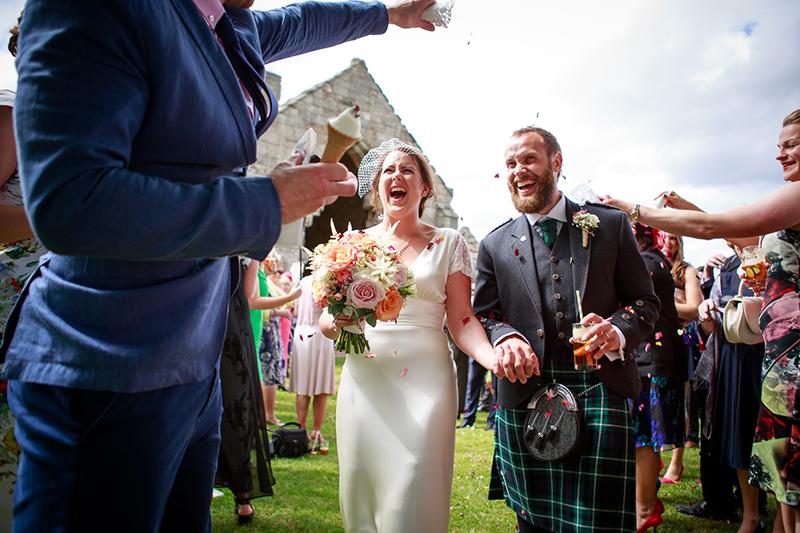 Charlotte & Oliver's Wedding - Dunglass Estate