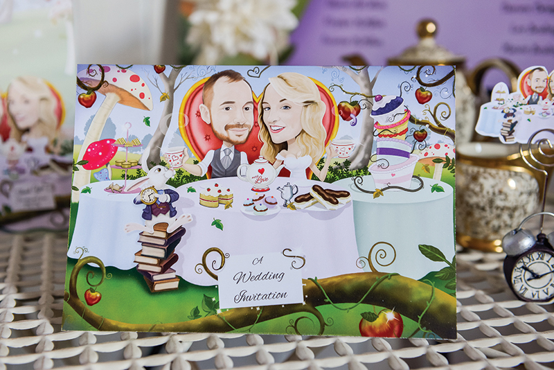 The Caricature Card Company can create an amazing bespoke piece of art that'll make your guests smile (caricaturecards.co.uk)
