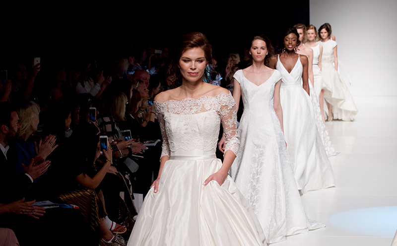 From the runway to rails: Scottish bridalwear experts reveal 2017\'s ...