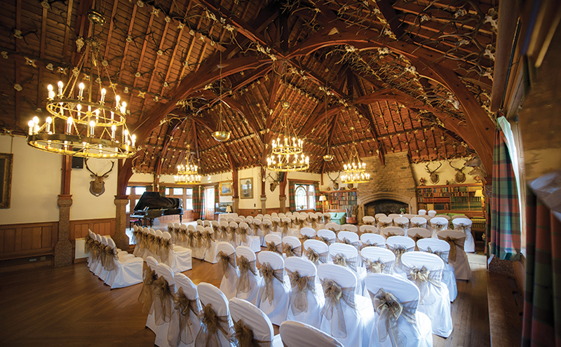 For An Authentically Scottish Feel The Glen Tanar Ballroom Should Be On Your List Of Must See Venues Set In A Privately Owned Estate Royal Deeside