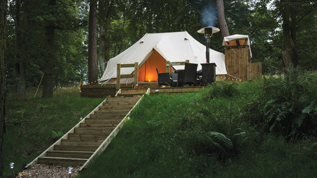 Camp out: Dundas Castle launches on-site glamping