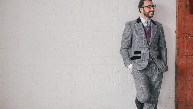 HOW TO: inject personality into the groom's outfit