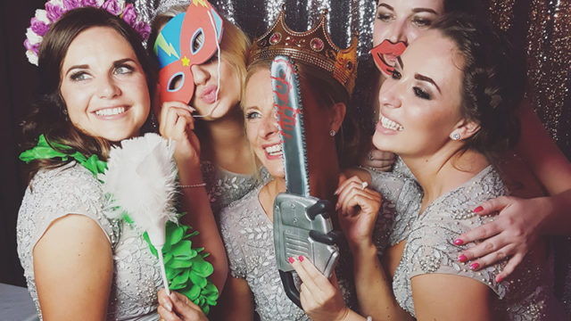 Photobooth attendants: why it'll be alright on the night with a helping hand