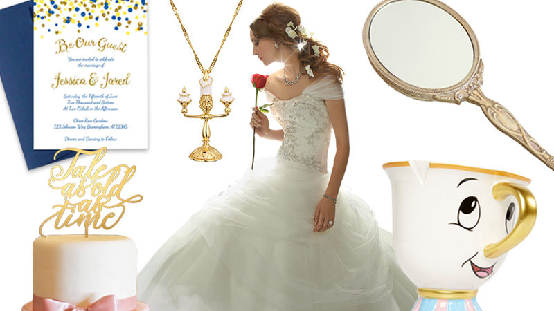 Be inspired by Beauty and the Beast for your big day