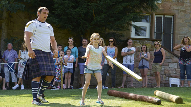 Clan and wife: Reel Time Events launches Highland Games Experience