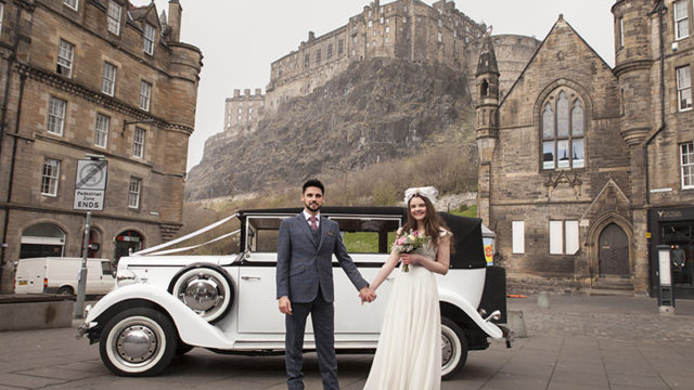 Edinburgh's Walking Wedding Fair is returning to the Old Town on Saturday 8th April