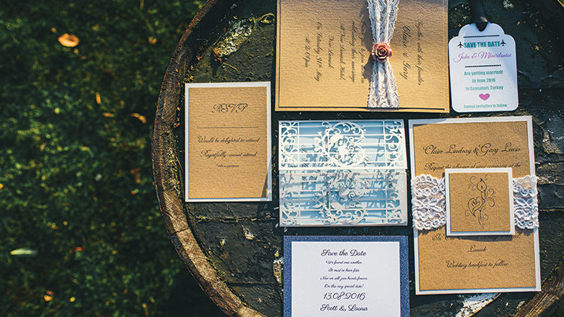 The suite life! Your wedding stationery wishlist