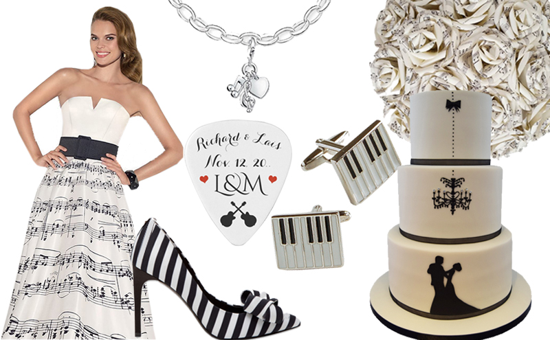 Moodboard In Perfect Harmony With Music Inspired Styling