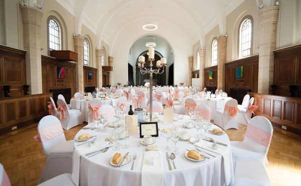 The Rivers Suite at Craiglockhart offers smart new wedding package