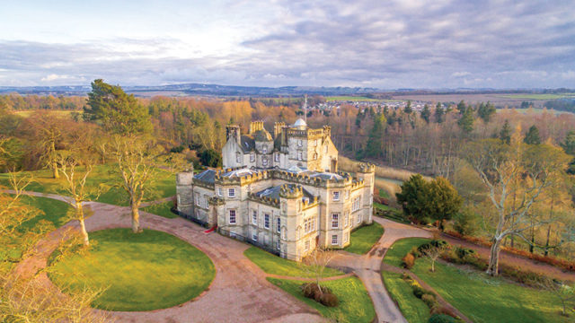 What's in a name? Winton Castle reinvents itself