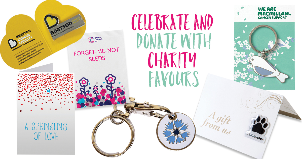 Spread The Love With Charity Favours On Your Wedding Day Tie Knot Scotland