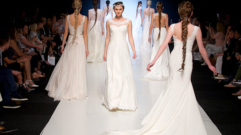 Trend report: Team TTKS hit London to preview bridalwear's 2018 collections