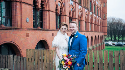 Lauren Burns and Craig Jones
