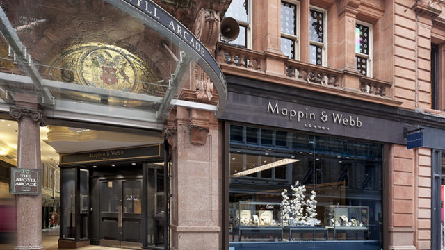 Mappin & Webb reveals slick new look at Glasgow flagship