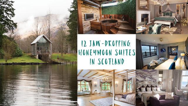 12 of Scotland's plushest honeymoon suites