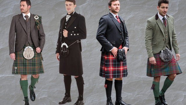 Hot Highlandwear: dashing kilt outfit inspiration for the big day