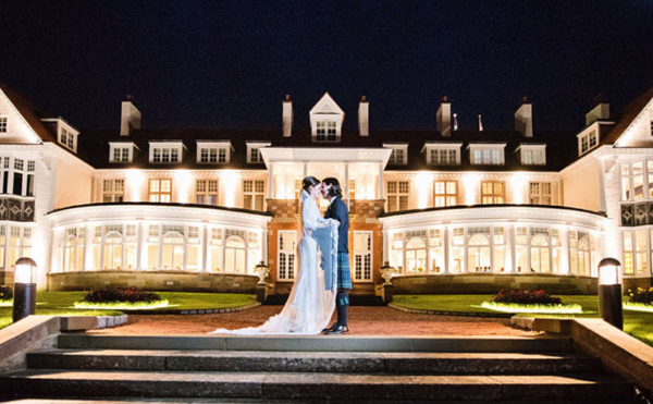 A night to remember! We chat to the first couple to celebrate in Trump Turnberry's new ballroom