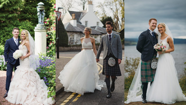 Three brides tell us how they found their dream dress