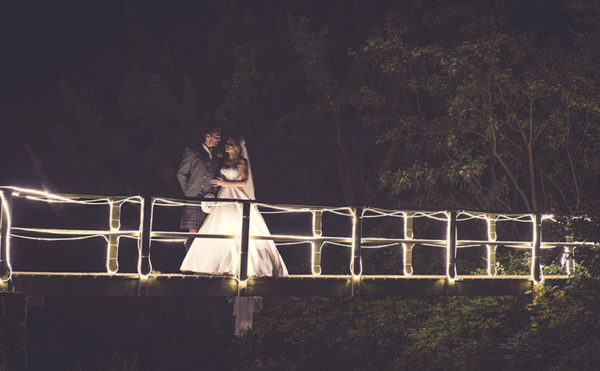 PHOTO ALBUM: starry-eyed newlyweds captured in stunning night-time snaps