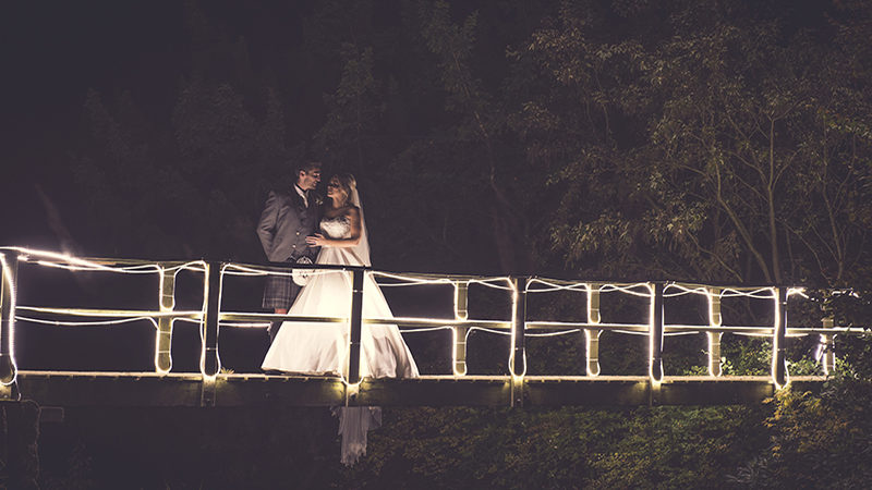 PHOTO ALBUM: starry-eyed newlyweds captured in stunning night-time snaps