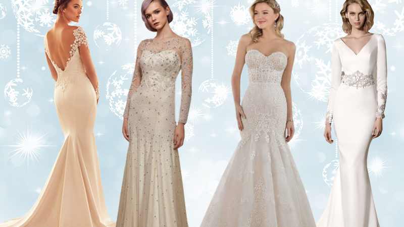 Winter wedding dress picks from industry insiders