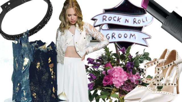 Moodboard: Romance meets rock n' roll