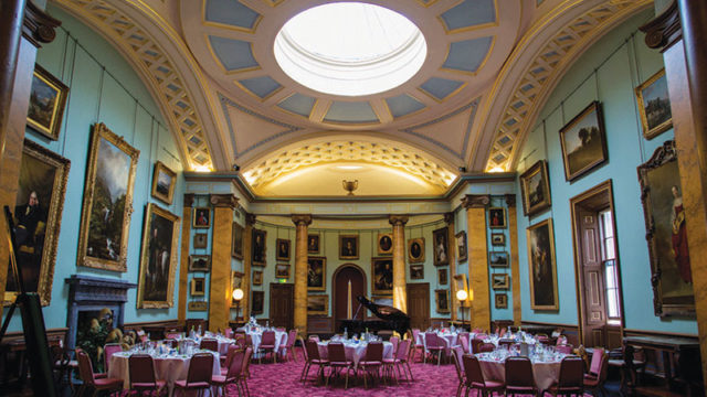 Eye-catching reception rooms for dining and dancing the night away