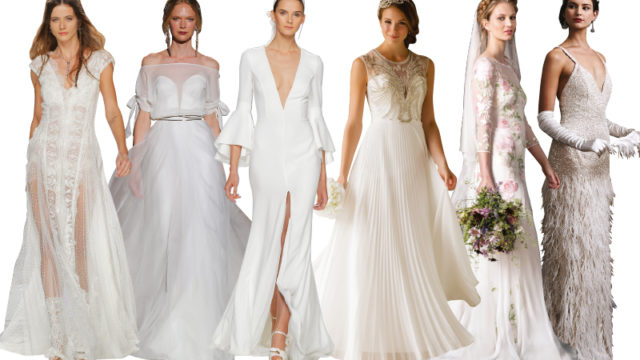 Six bridalwear trends that should be on your radar