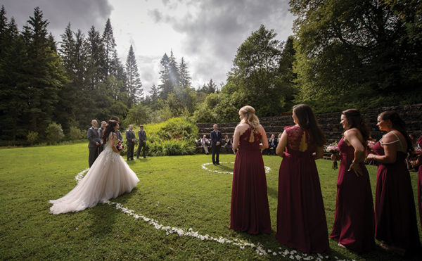 Outdoor ceremonies – let's talk brollies and back-up plans