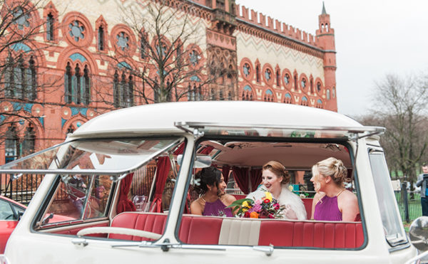 PHOTO ALBUM: Travelling in style on the big day