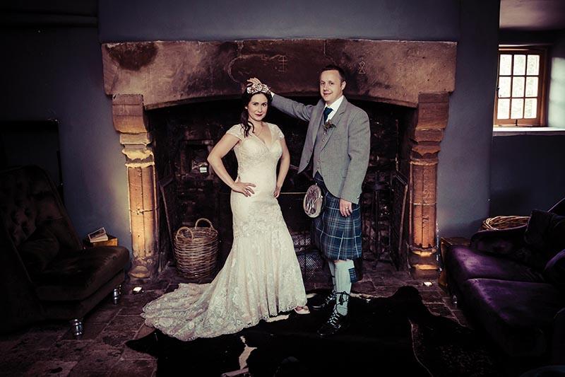 Andrew Weild real life wedding