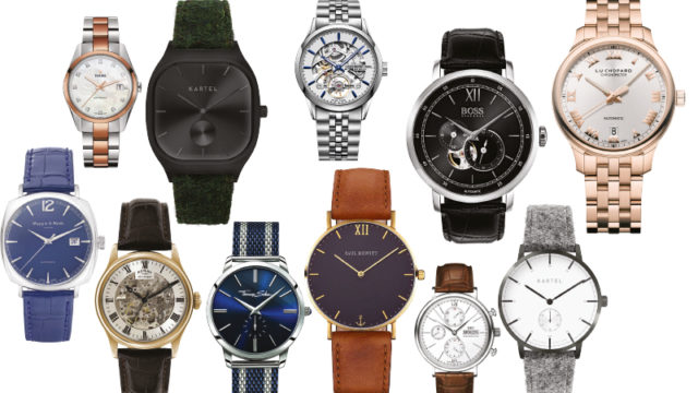 Watch it – cool timepieces for grooms