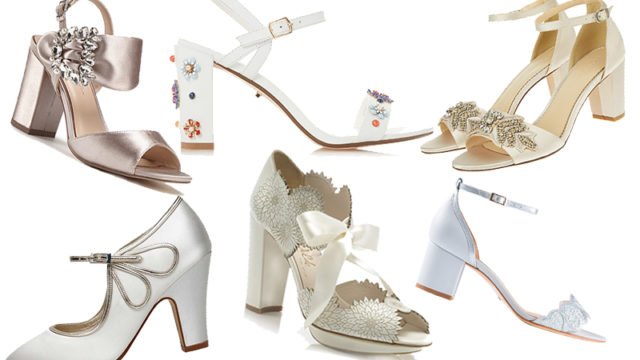 Stilet-no! Practical AND stylish bridal block heels