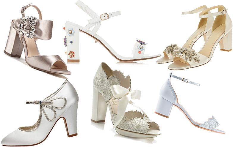 5c676670bb7 Stilet-no! Practical AND stylish bridal block heels