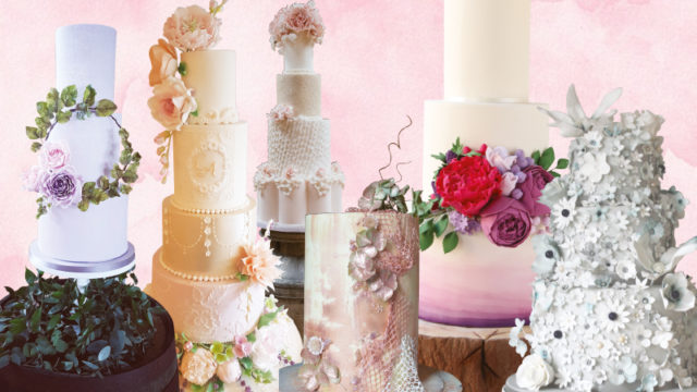 Floral frenzy cakes