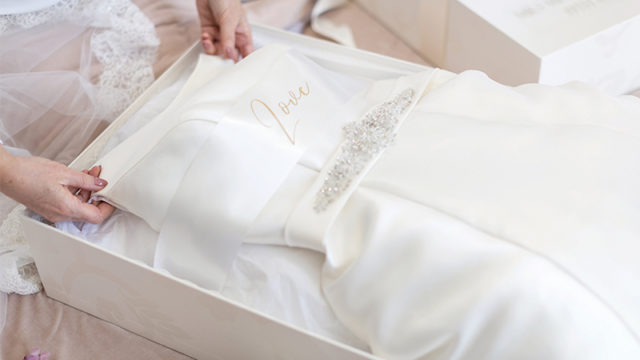 Give your gown a happily ever after at The Dress Cleaning Company